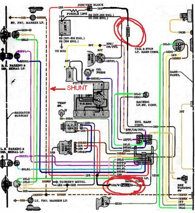 Chevy Truck Engine Wiring Harnes