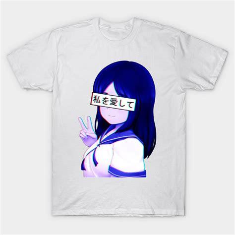 japanese anime school girl aesthetic vaporwave waifu