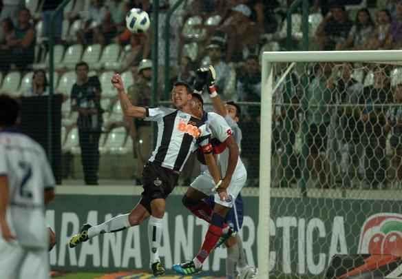 Lances do jogo entre Atlético e Bahia, na Arena do Jacaré - Alexandre Guzanshe/EM/D.A. Press