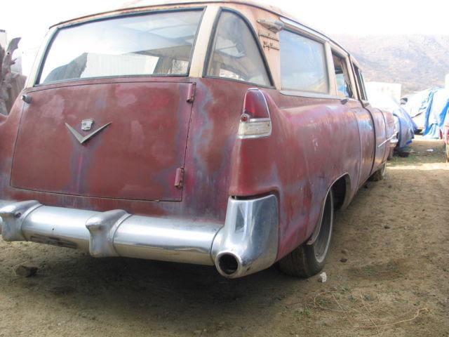 1955 Cadillac Skyview Station Wagon-Broadmoor-Custom built ...