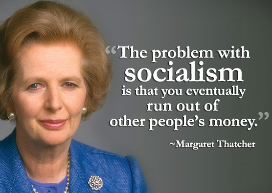 Image result for maggie thatcher socialism