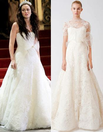 Gossip Girl Blair Waldorf's Vera Wang Wedding Dress for