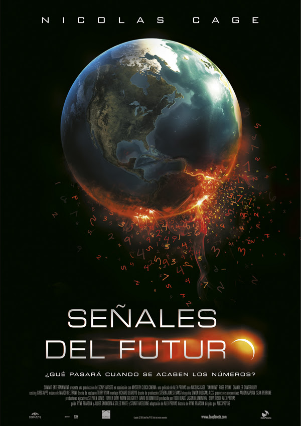 Señales del futuro (Alex Proyas, 2.009)