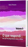 O que respondi - Vol. 9