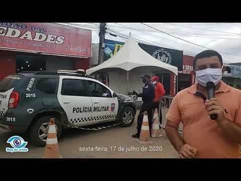 Prefeito de João Câmara flexibiliza a entrada de pessoas de outros municípios no centro da cidade inclusive de motos