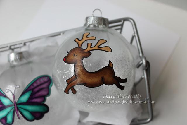 Reindeer Ornament 1