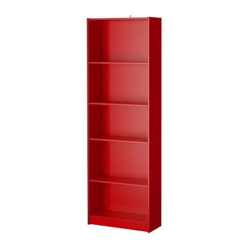 FINNBY Bookcase IKEA The shelves are adjustable so you can customize your storage as needed.