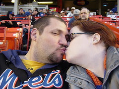 Hubby and I at the met game
