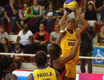 Jogo das Estrelas LBF basquete feminino (Foto: Antonio Basilio/ PMSJC)
