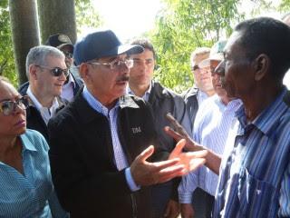 Villa Isabela: Gobierno auxiliará a todos los afectados por lluvias