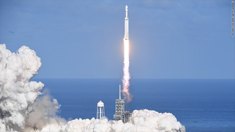 spacex falcon heavy 2
