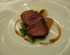 Fillet of Veal with Parmesan Cream