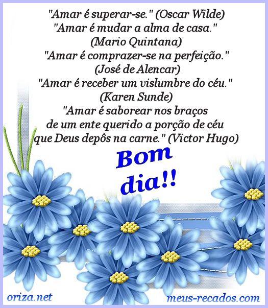 Mensagens De Bom Dia Amor Para Celular Frases E Mensagens