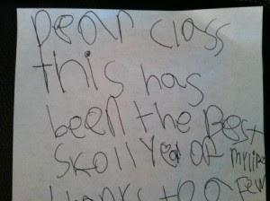 Dear Class Letter