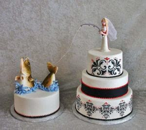 Out of the Box Fishing Wedding Cake Toppers Ideas   Marina