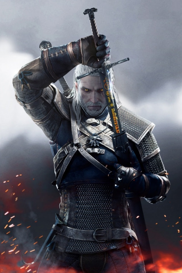 Witcher 3 Wild Hunt Geralt 2015 Mobile Wallpaper Mobiles Wall