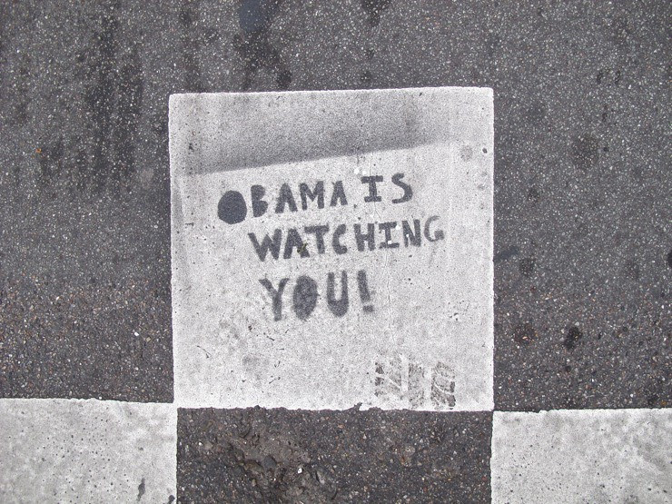 Obama is watching you!