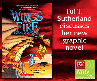 PW KidsCast: A Conversation with Tui T. Sutherland