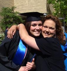 Heather me grad day