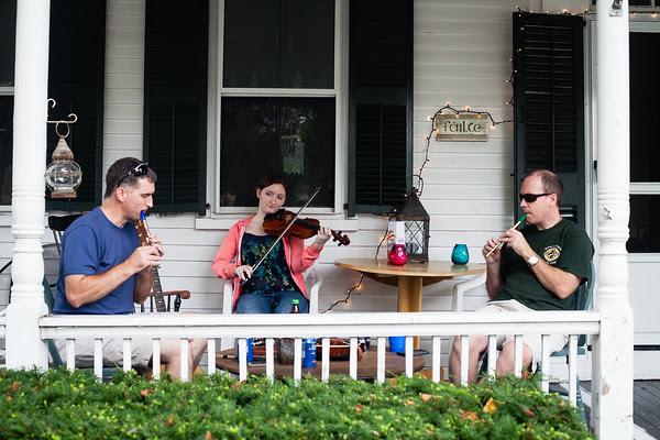 Irish traditional music, Edgartown trad sessions