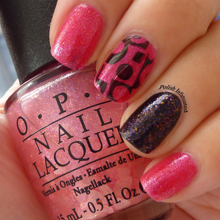 pink, black & stamping1