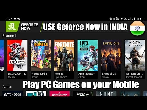 Nvidia GeForce Now Installation Process for Android || STEAM Games || Pl...