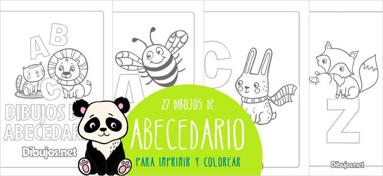 Aprende Las Letras Del Abecedario Con El Descargable Para Colorear