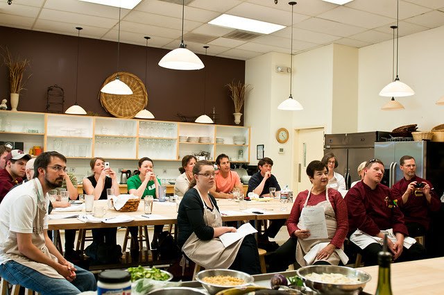 Students at Culinary India