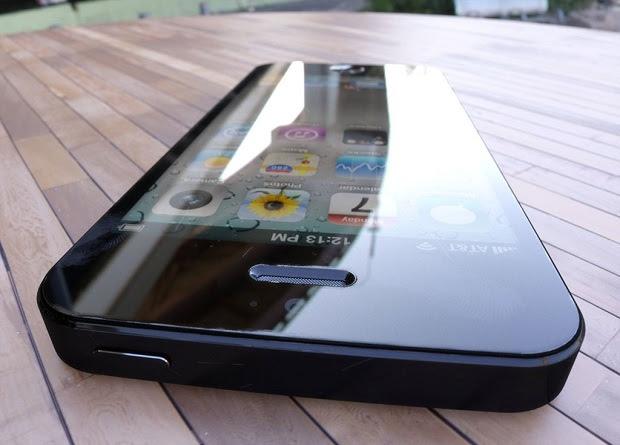 Representação virtual de como será o novo iPhone 5 (Foto: Reprodução)