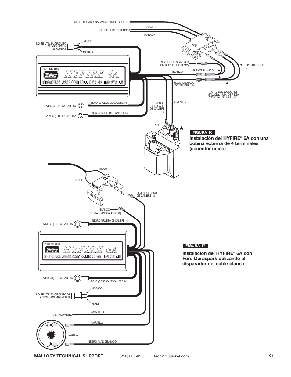 Mallory Ignition System Wiring Diagram