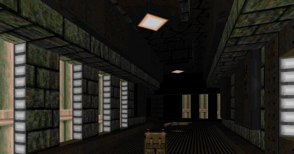 ONEMANDOOM: WAD Reviews: Mortiser 4: Chemical Plant (SWMORT4