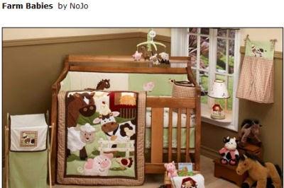 Barnyard Farm Theme Baby Animals Nursery Crib Bedding Nojo