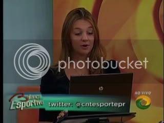 BALANÇO ESPORTIVO TV CNT CURITIBA PR