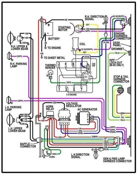 1964 C10 Wiring Diagram