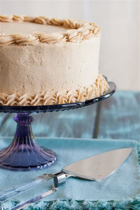 Old Fashioned Peanut Butter Cake   Goodie Godmother