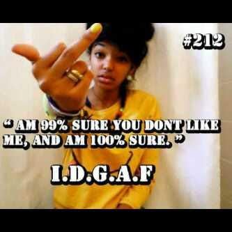 Idgaf If You Dont Like Me Quotes Nemetasaufgegabeltinfo
