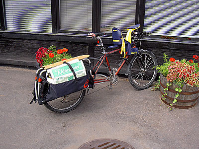 Xtracycle at The Depot in Duluth
