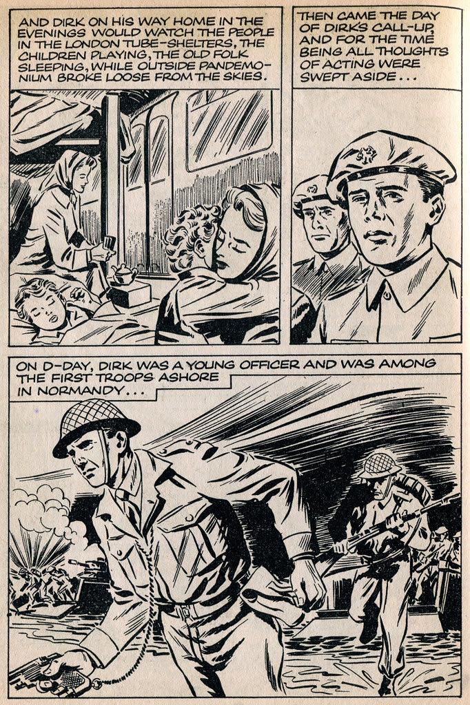 Dirk Bogarde comic 7