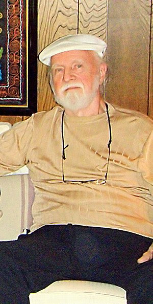 American science fiction author Richard Matheson.