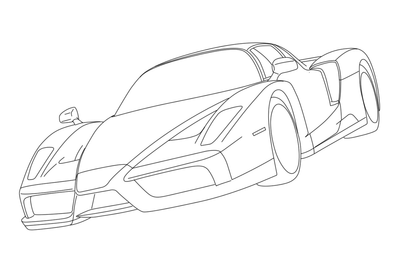 malvorlagen cars 2 Holiday Coloring Pages race car color pages Ferrari kleurplaat kleurplaat