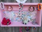 Wood Shelf/Jewelry Display Shelf/Wall by patscraftingagain on Etsy