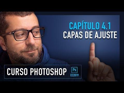 🎨  Curso ADOBE PHOTOSHOP 2019 GRATIS - Capítulo  4.1 - Capas de Ajuste