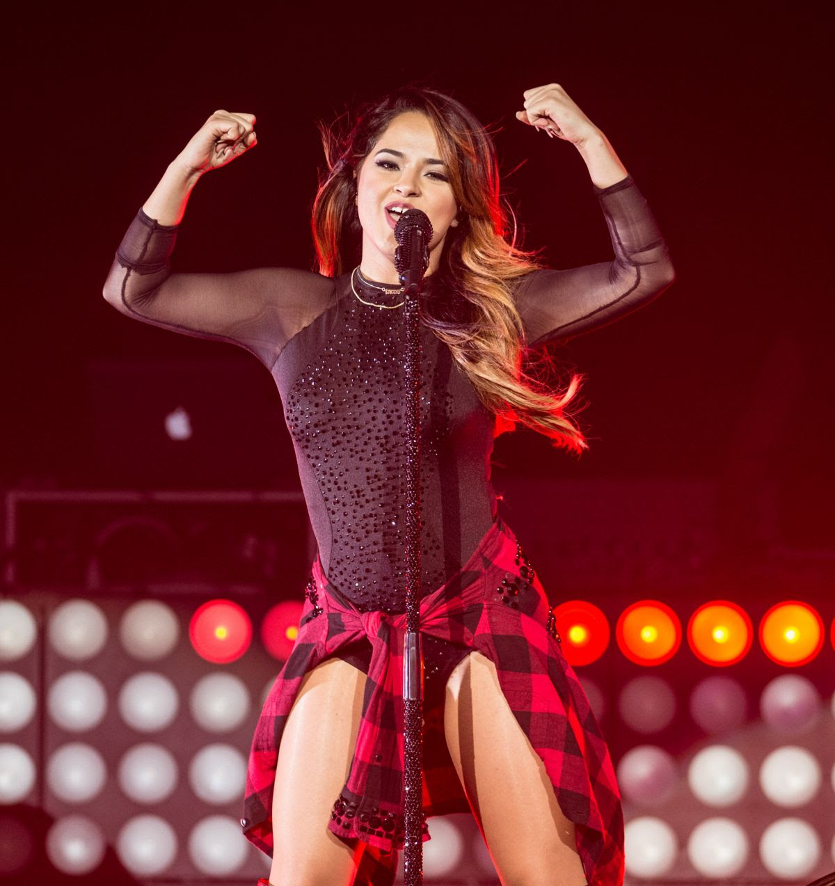 BECKY G Performs at Hard Rock Hotel & Casino in Las Vegas 10/24/15