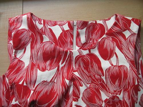 Brasilia Dress Front Detail