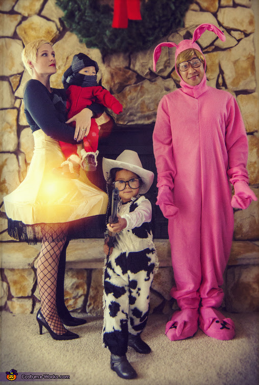 A Christmas Story Family Costumes