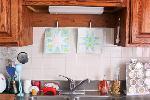 Color Me Retro Kitchen by Jeni Baker