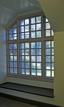 Large Window at the Milton, Massachusetts Comfort Station