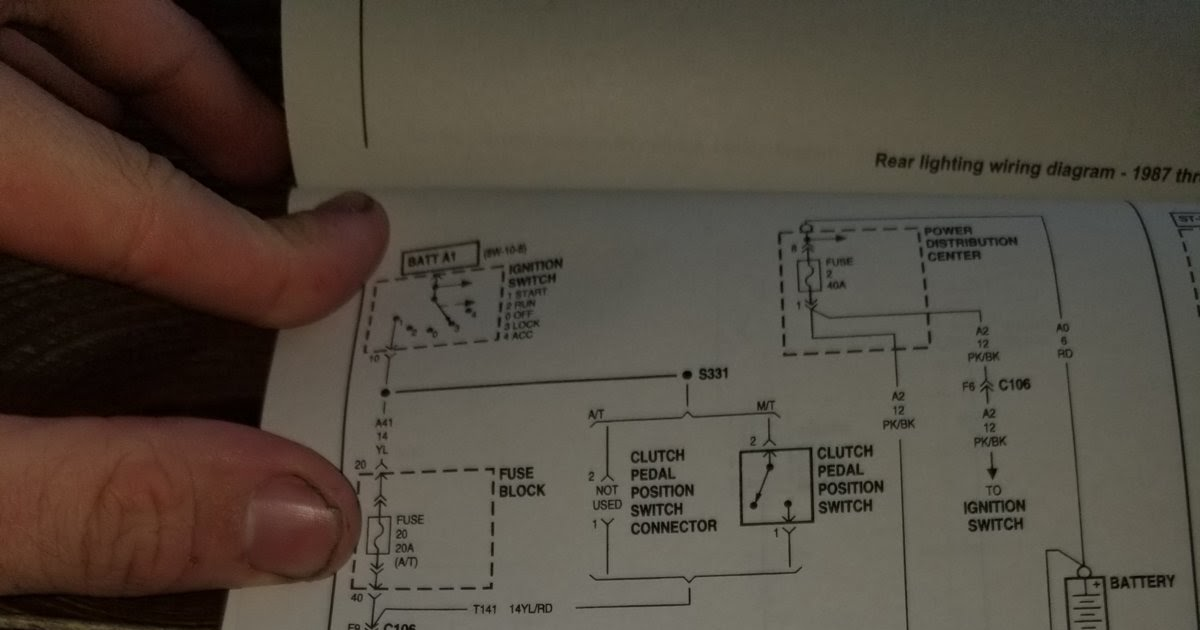 2004 Jeep Wrangler Ignition Switch Wiring Diagram