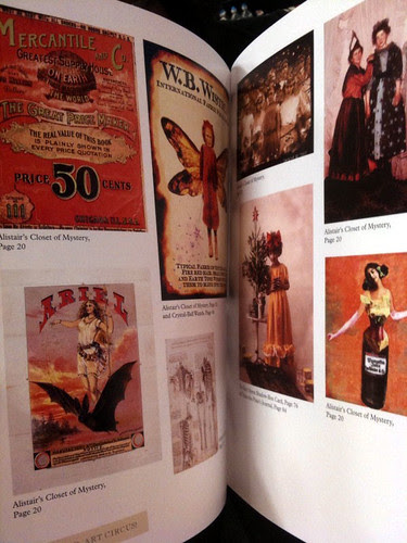 Altered Art Circus! Inside Preview! 2
