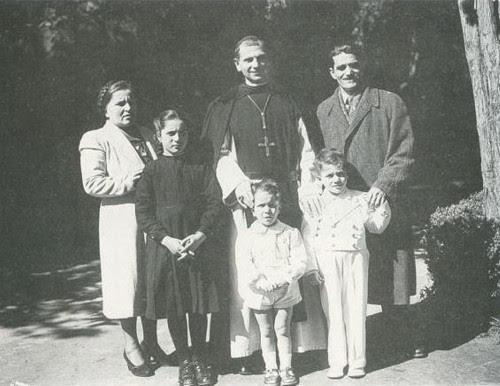 bruno cornacchiola y familia